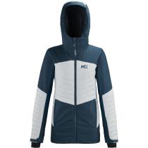 Buy Engadin Jacket W Orion Blue/Moon White