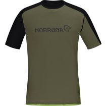 Buy Equalize Merino T-Shirt M'S Olive Night/Foliage