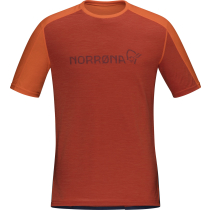 Buy Equalize Merino T-Shirt M'S Rooibos Tea/Indigo Night