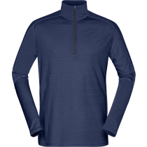 Kauf Equaliser Merino Zip Neck M'S Indigo Night