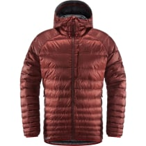 Achat Essens Down Hood Men Maroon Red/Magnetite