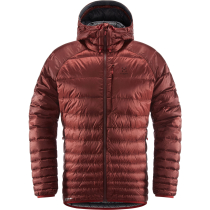 Kauf Essens Down Hood Men Maroon Red/Magnetite