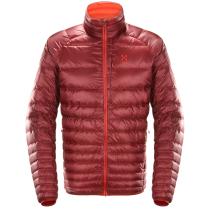 Kauf Essens Down Jacket Men Dark Ruby/Habanero