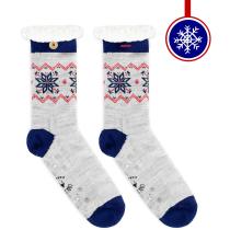 Buy Etoile des Neiges Furry Socks W Grey