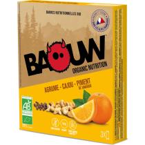 Compra Etui 3 barres bio 25g Baouw Agrume-Cajou-Piment de Jamaïque