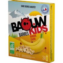 Buy Etui 3 Barres Bio Kids 20g Baouw Banane-Cajou