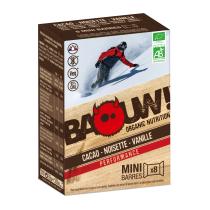 Achat Etuis 8 mini-barres bio 10g Cacao-Noisette-Vanille