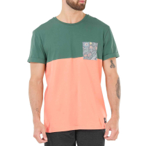 Buy Evans Pocket Tee Kaki Peach