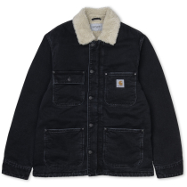 Kauf Fairmount Coat Black Stone Washed