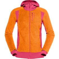 Buy Falketind Alpha120 Zip Hood W Orange Popsicle/Honeysuckle