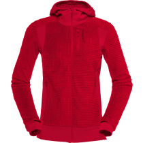Acquisto Falketind Alpha120 Zip Hood W'S Jester Red