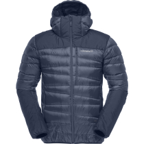 Kauf Falketind Down Hood Jacket (M) Indigo Night