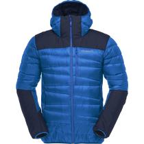 Buy Falketind Down750 Hood M'S Olympian Blue