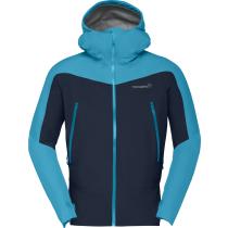 Buy Falketind Gore-Tex Jacket M Hawaiian Surf/Indigo Night