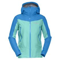 Buy Falketind Gore-Tex Jacket W Arcadia/Campanula