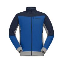 Buy Falketind Warmwool2 Stretch Jacket M Olympian Blue/Indigo Night