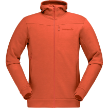 Acquisto Falketind Warmwool2 Stretch Zip Hood M'S Pureed Pumpkin