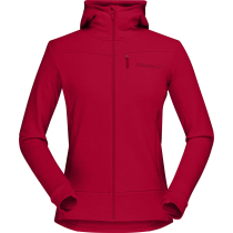 Achat Falketind Warmwool2 Stretch Zip Hood W'S Jester Red