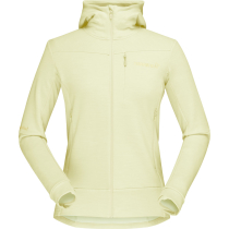 Acquisto Falketind Warmwool2 Stretch Zip Hood W'S Sunny Lime