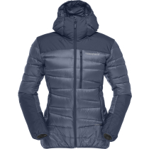 Kauf Falketind Down Hood Jacket (W) Indigo Night
