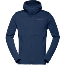 Achat Falketind Warm1 Stretch Zip Hoodie (M) Indigo Night