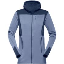 Buy Falketind Warm1 Stretch Zip Hoodie (W) Bedrock