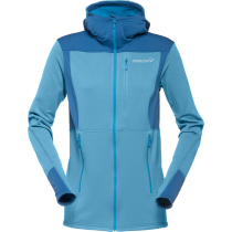 Achat Falketind Warm1 Stretch Zip Hoodie (W) Blue Moon