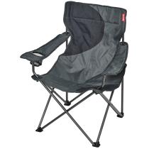 Buy Fauteuil Camping Acier Gris / Noir