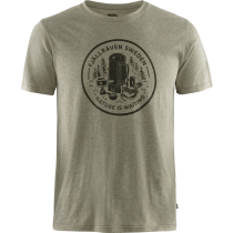 Buy Fikapaus T-shirt M Light Olive-Melange