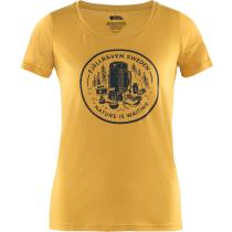 Buy Fikapaus T-shirt W Ochre