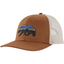 Buy Fitz Roy Bear Trucker Hat Earthworm Brown