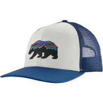 Buy Fitz Roy Bear Trucker Hat White
