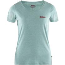 Acquisto Fjällräven Logo T-shirt W Clay Blue-Melange