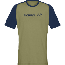 Acquisto Fjora Equaliser Lightweight T-Shirt M's Olive Drab/Indigo Night