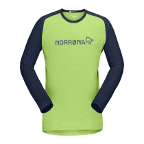 Buy Fjora Equaliser Lightweight Long Sleeve M Foliage/Indigo Night