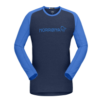 Buy Fjora Equaliser Lightweight Long Sleeve M Olympian Blue/Indigo Night