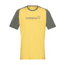 Kauf Fjora Equaliser Lightweight T-Shirt M Olive Night/Lemon Chrome
