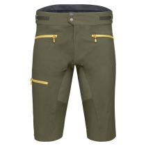 Kauf Fjora Flex1 Mid Weight Shorts M Olive Night/Lemon Chrome
