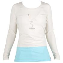 Buy Flamingo Tee LS White Stone