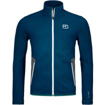 Buy Fleece Jacket M Petrol Blue