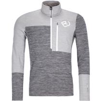 Buy Fleece Light Zip Neck M Grey Blend