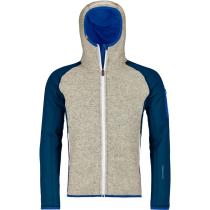 Achat Fleece Plus Classic Knit Hdy M Petrol Blue