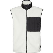 Acquisto Fleece Vest Off White