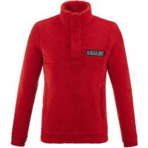 Buy Fleece Po M Red