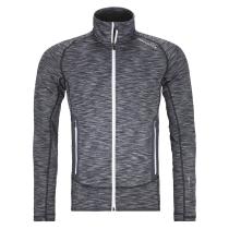 Buy Fleece Space Dyed Jacket M black raven blend