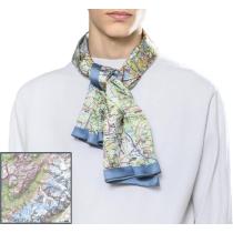 Buy Foulard Carte Mont Blanc