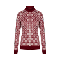 Achat Frida W Jacket Ruby Red / Off White / Light Charcoal