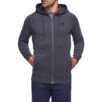 Kauf Fullzip Hoody Stacked M Carbon