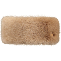 Achat Fur Headband W Light Brown