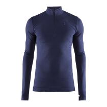 Buy Fuseknit Comfort 1/2 Zip LS M Maritime